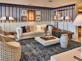 Decora Lider Rio de Janeiro - Living e Jantar na Praia Salas de estar modernas por Lider Interiores Moderno