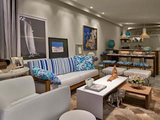 Decora Lider Salvador - Varanda gourmet Salas de estar modernas por Lider Interiores Moderno
