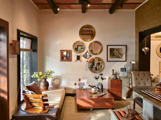The Delhi Design Store monica khanna designs Modern Study Room and Home Office