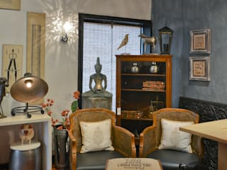 The Delhi Design Store Studio moderno di monica khanna designs Moderno