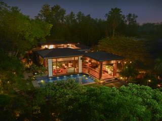 Chattarpur Farmhouse New Delhi: modern  by monica khanna designs,Modern