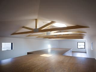 岩倉の家: 牧野研造建築設計事務所が手掛けた書斎です。