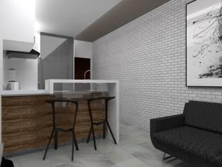 Kitchen by Marianny Velasquez arquitecto, Modern