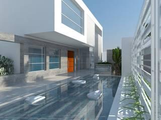 Houses by Marianny Velasquez arquitecto, Minimalist