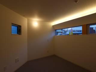 田原泰浩建築設計事務所 Eclectic style bedroom