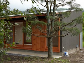Houses by デザインプラネッツ一級建築士事務所, Minimalist