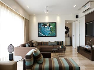 AS Apartment Modern media room by Atelier Design N Domain Modern