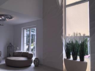 Wandgestaltung mit 3D Wandpaneelen - Bilder von unseren Kunden:  Wohnzimmer von Loft Design System Deutschland - Wandpaneele aus Bayern