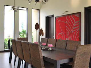 JSL Villa Modern dining room by Atelier Design N Domain Modern