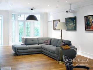 Salas / recibidores de estilo  por ARCHE VISTA, Clásico
