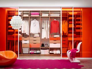 Elfa Deutschland GmbH Vestidores y closetsArmarios y cómodas Compuestos de madera y plástico Naranja