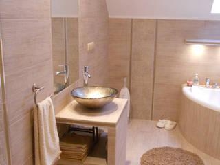 Katarzyna Wnęk 現代浴室設計點子、靈感&圖片
