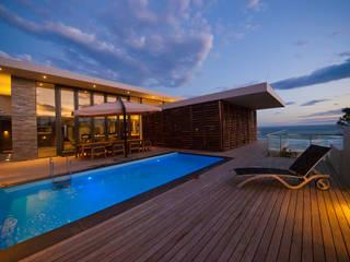 modern Pool by van ringen architecten
