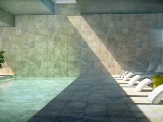 Дом в п. Архангельский Бассейн в стиле модерн от Kakoyan Design Модерн