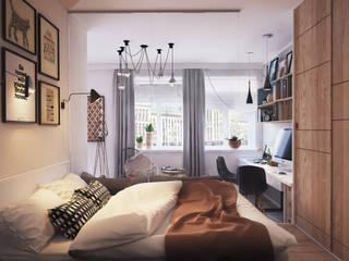 Bedroom Polygon arch&des Minimalist bedroom