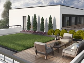 Modern style gardens by Rover Building Company Europe Modern