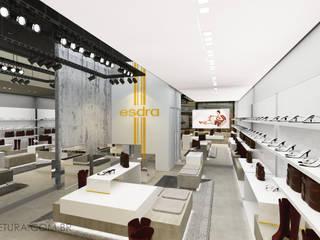 Oficinas y Tiendas de estilo  por C. Arquitetura, Moderno