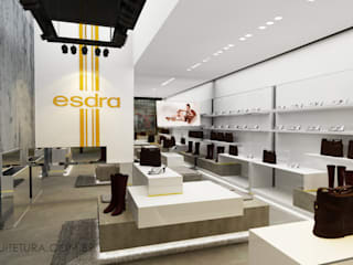 Moderne kantoor- & winkelruimten van Caroline Vargas | C. Arquitetura Modern