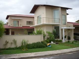 Residência TC Casas ecléticas por Allan Feio Arquitetura Eclético