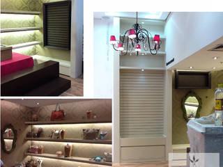 Oficinas y Comercios de estilo  por Clara Vicente Arquitetura, Moderno