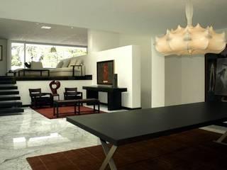 Salas de estar modernas por Olivia Aldrete Haas Moderno
