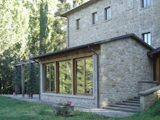 Foresteria_Montauto: Case in stile  di Studio A.I.R.