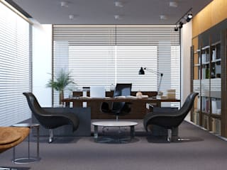 Office buildings by FARGO DESIGNS,