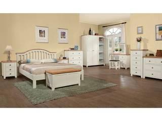 Bonsoni Acton Painted 3ft Single Bed Frame - Vogue Painted Fresh Ivory Tone Finish:   by Bonsoni.com,