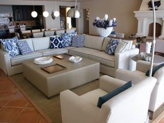 Olivia Aldrete Haas 现代客厅設計點子、靈感 & 圖片