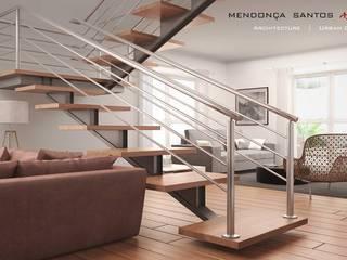Mendonça Santos Arquitetos & Associados Salas modernas