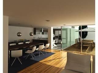 Mendonça Santos Arquitetos & Associados Comedores de estilo moderno