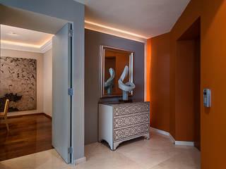 Pasillos, vestíbulos y escaleras modernos de Olivia Aldrete Haas Moderno