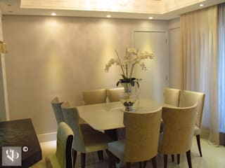 Projetos Apartamento 120m2 Salas de jantar modernas por Gustavo Bodini | Designer de Interiores Moderno