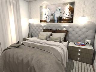 Projeto Apartamento Fábio Quartos modernos por Gustavo Bodini | Designer de Interiores Moderno