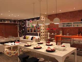 Loft Contemporâneo por Cromalux Sistemas de Iluminação Ltda Moderno