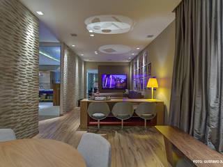 MMMundim Arquitetura e Interiores ห้องนั่งเล่น
