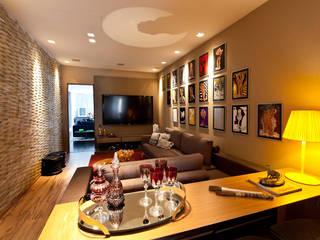 Salas / recibidores de estilo  por MMMundim Arquitetura e Interiores, Moderno