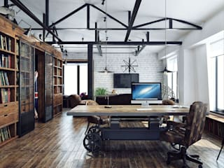 Хороший план Industrial style office buildings