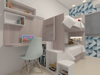 Endüstriyel Yatak Odası Karoline Gesser Leal Interiores Endüstriyel