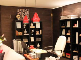 Home Office por Cromalux Sistemas de Iluminação Ltda Moderno