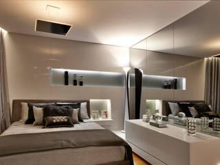 Dormitorios de estilo moderno de Bellini Arquitetura e Design Moderno