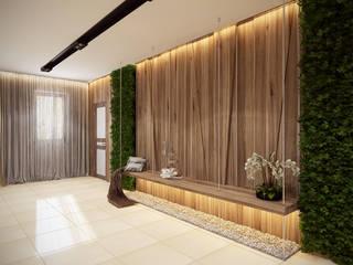 Pasillos, vestíbulos y escaleras de estilo minimalista de Artichok Design Minimalista