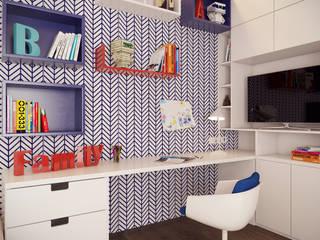 minimalistic Nursery/kid's room by Art-i-Chok