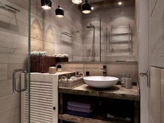 Bathroom Ванная комната в скандинавском стиле от Elena Arsentyeva Скандинавский