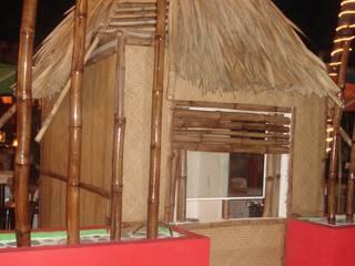 bar enacapulco: Casas de estilo  por bello diseño!,