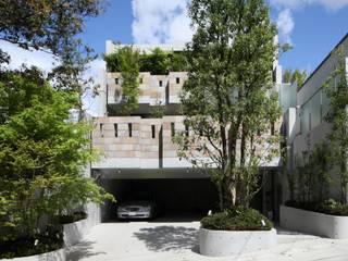二段テラスの家: AMO設計事務所が手掛けた家です。
