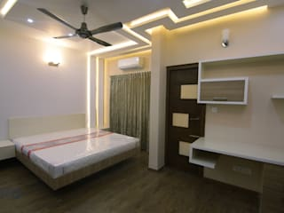Bedroom false ceiling design homify Asian style bathroom