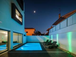 Albercas modernas de JPS Atelier - Arquitectura, Design e Engenharia Moderno