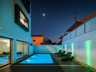 Albercas de estilo moderno por JPS Atelier - Arquitectura, Design e Engenharia