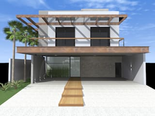 сучасний  by Ágape Arquitetos Associados, Сучасний